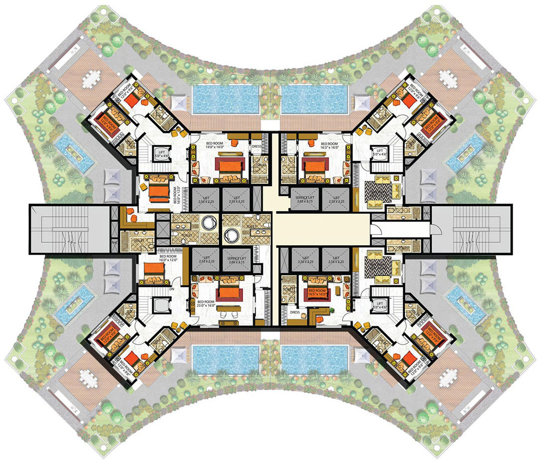 6500 sq ft 5 bhk 8t apartment for sale in indiabulls for 6500 square foot house plans