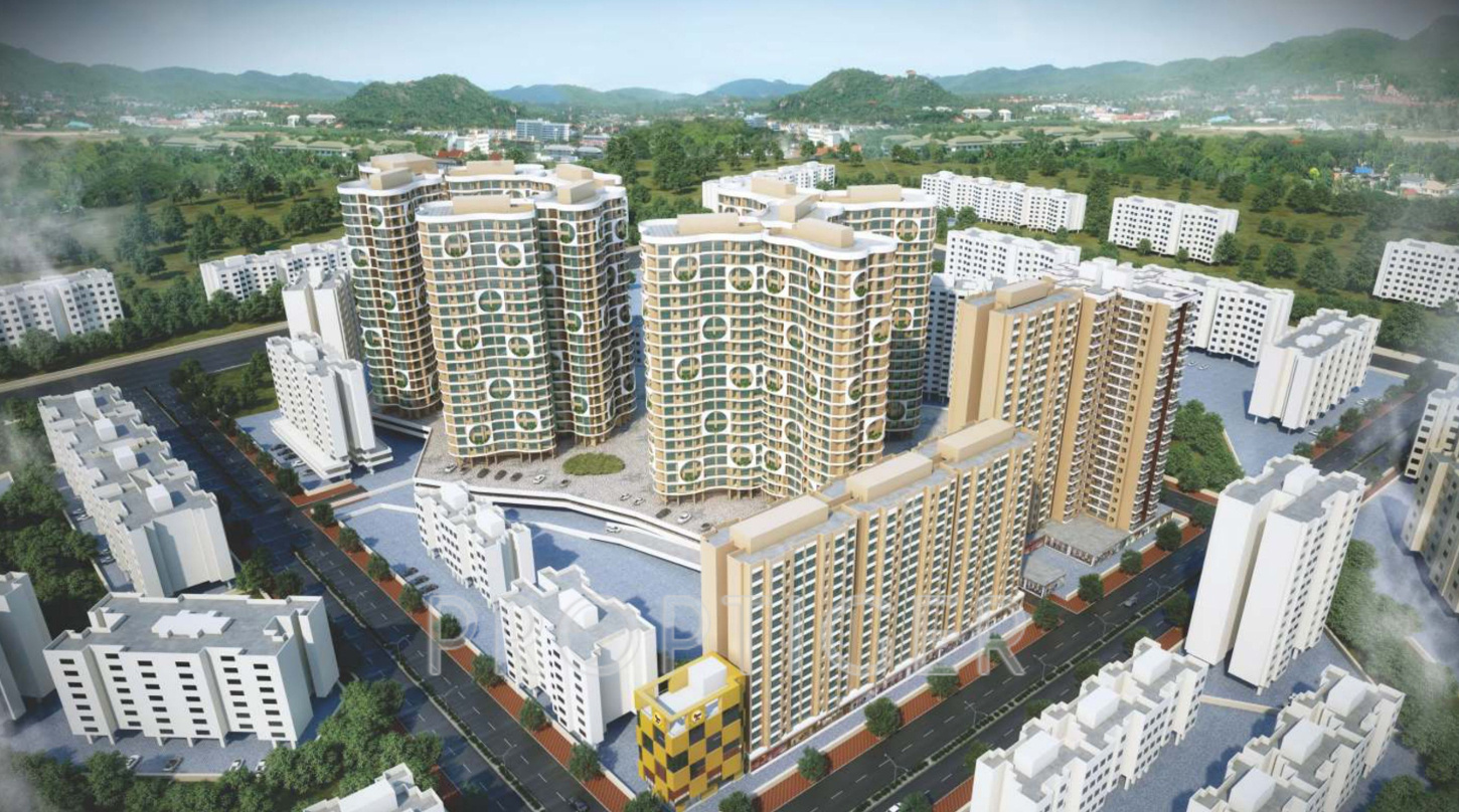 ravi group gaurav excellency in mira road east mumbai price images for elevation of ravi group gaurav excellency