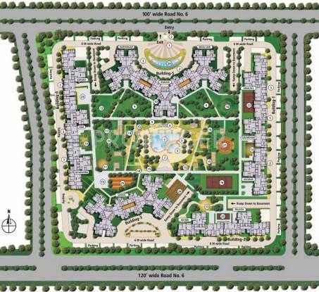 srishti Images for Site Plan of Shipra Srishti