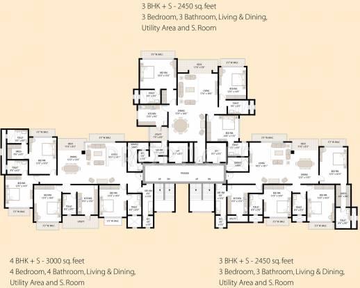 srishti Images for Cluster Plan of Shipra Srishti