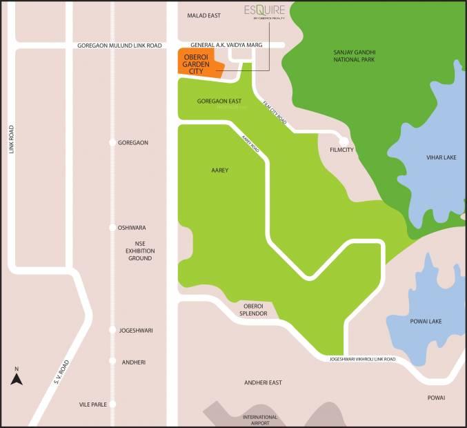 esquire Images for Location Plan of Oberoi Esquire