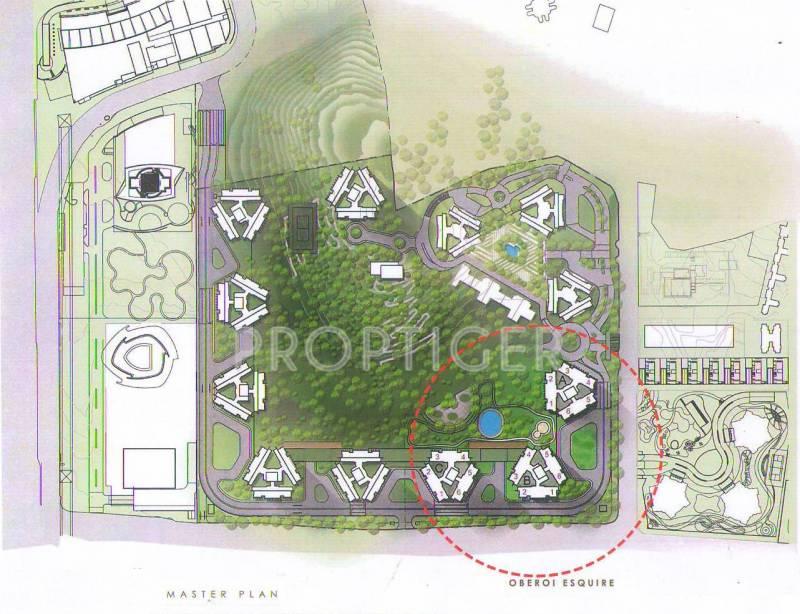 esquire Images for Master Plan of Oberoi Esquire