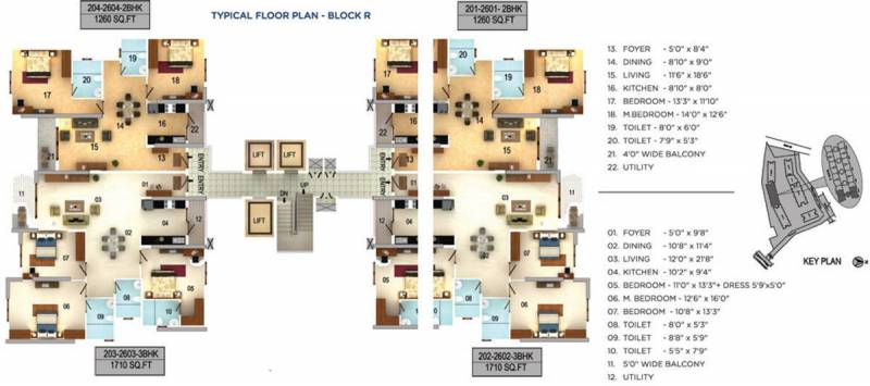 Images for Cluster Plan of Mantri Serenity