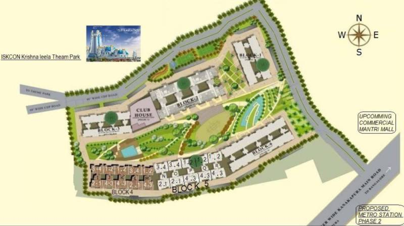 Images for Layout Plan of Mantri Serenity