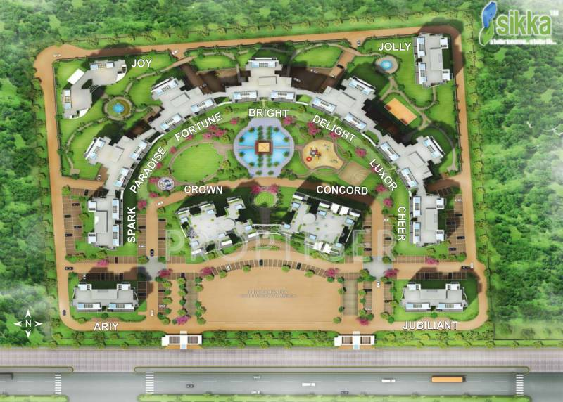 Images for Site Plan of Sikka Kaamna Greens