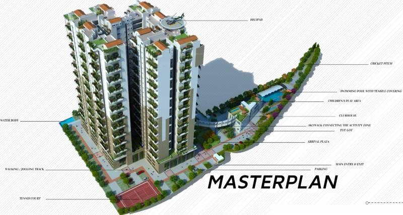 terraces Images for Master Plan of Vaishnavi Terraces