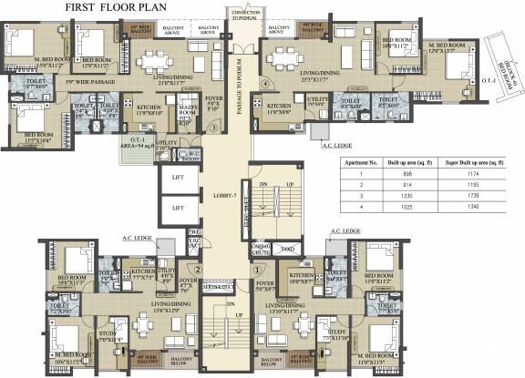 Images for Cluster Plan of Elita Garden Vista Phase 2