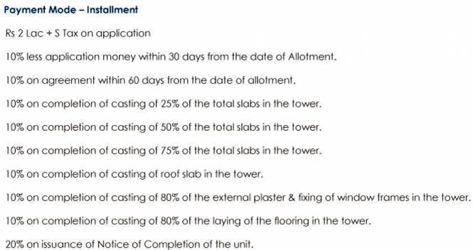Images for Payment Plan of Elita Garden Vista Phase 2