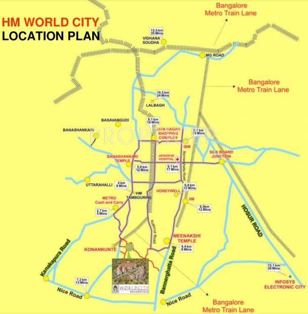 Images for Location Plan of HM World City