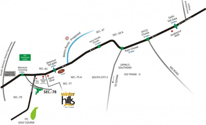 Images for Location Plan of Umang Winter Hills