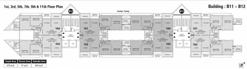 Images for Cluster Plan of Kumar Park Infinia