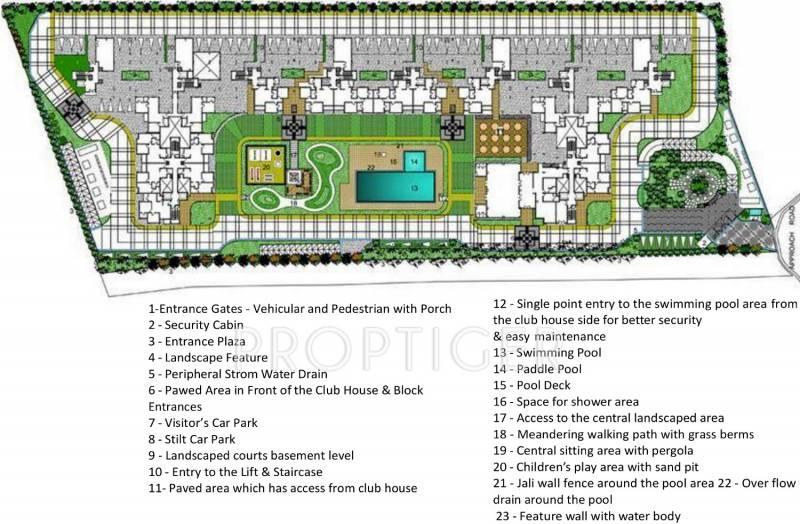 Images for Master Plan of Bren Avalon
