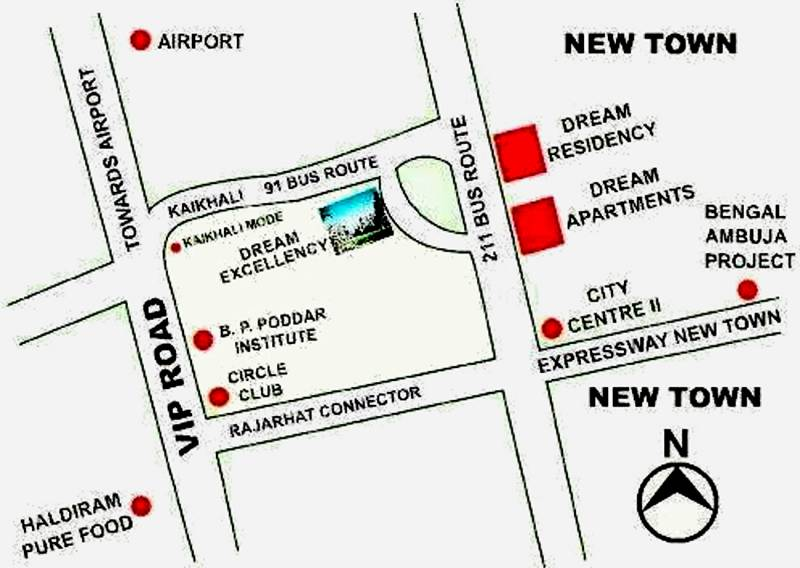Images for Location Plan of Jain Dream Excellency