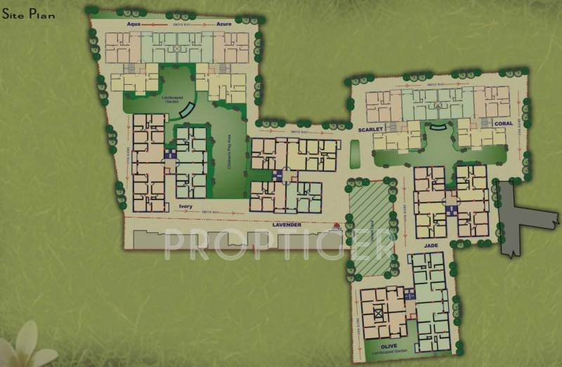 Images for Site Plan of Jain Dream Residency Manor