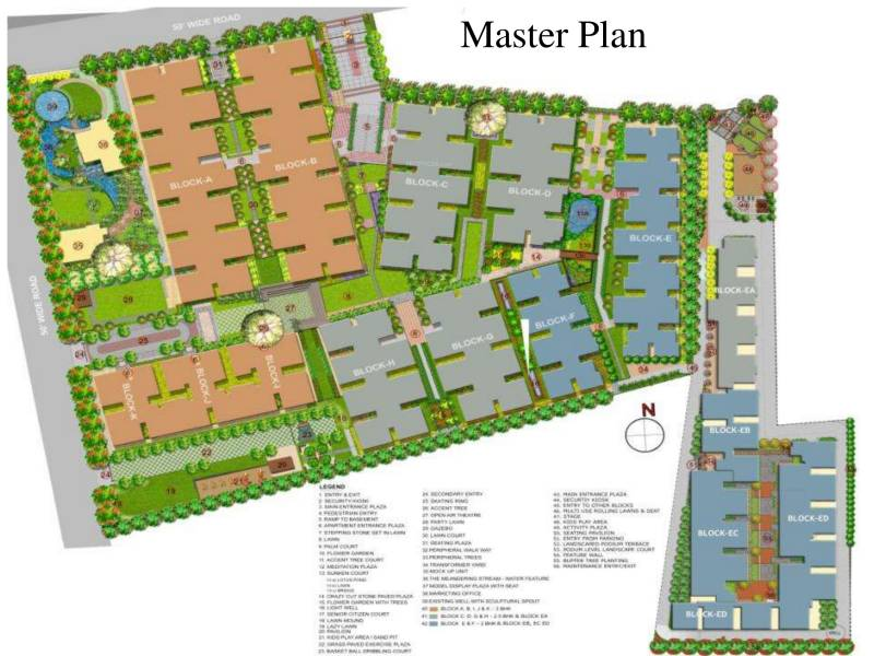 Images for Master Plan of BSCPL Bollineni Hillside