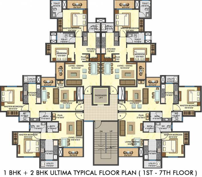 casa-rio-gold Images for Cluster Plan of Lodha Casa Rio Gold