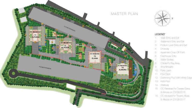 Images for Master Plan of TATA The Promont