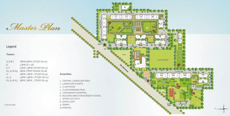 Images for Layout Plan of Indiabulls Centrum Park