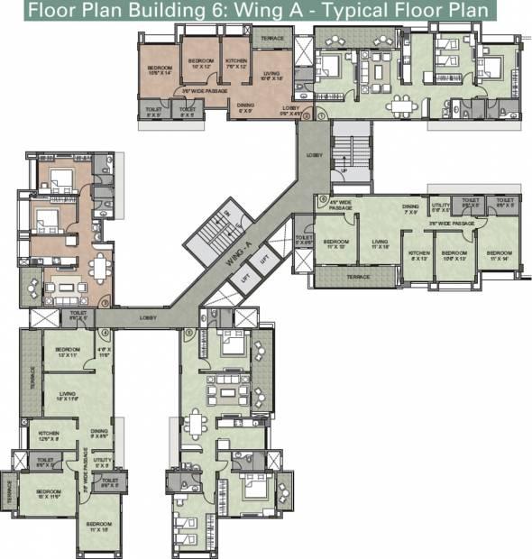 Images for Cluster Plan of Kalpataru Serenity
