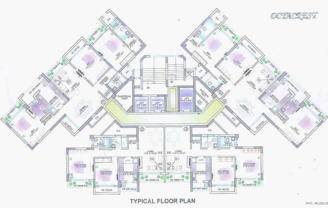 octacrest Images for Cluster Plan of Lokhandwala Octacrest
