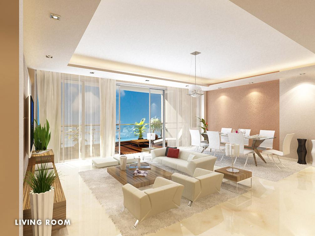 Sunteck sunteck signia high in kandivali east mumbai for Living room kandivali east