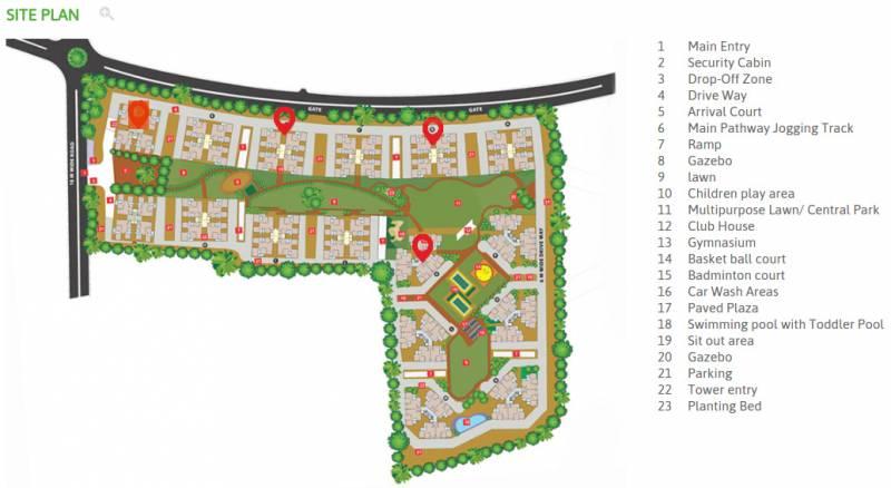 Images for Site Plan of Applewoods Sorrel