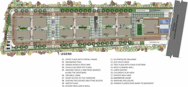 Images for Site Plan of Golden Hanging Gardens