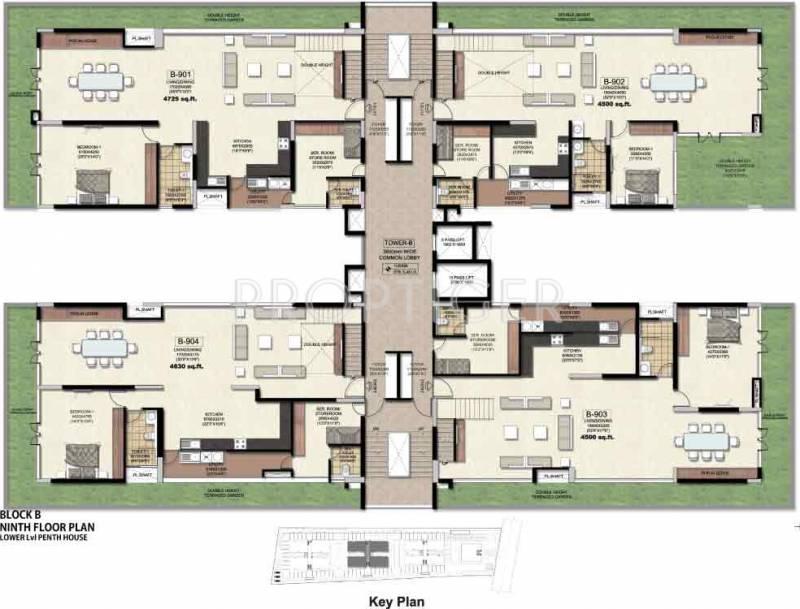 Images for Cluster Plan of Golden Hanging Gardens