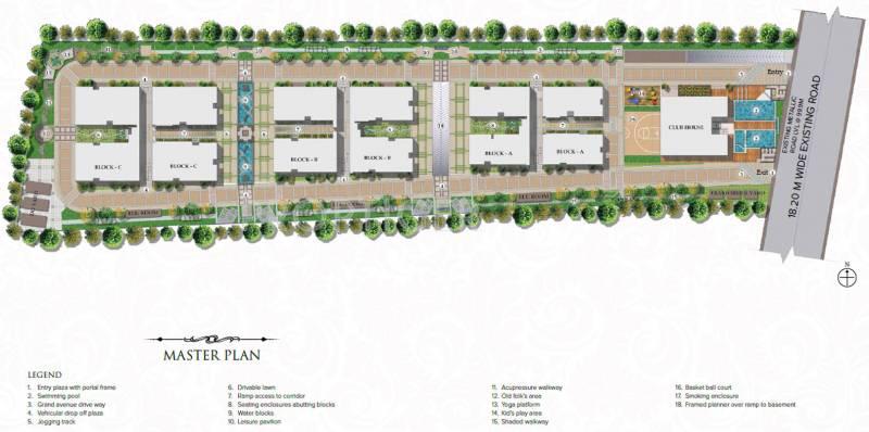 Images for Master Plan of Golden Hanging Gardens