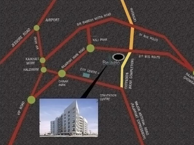 team-taurus bellagio Location Plan