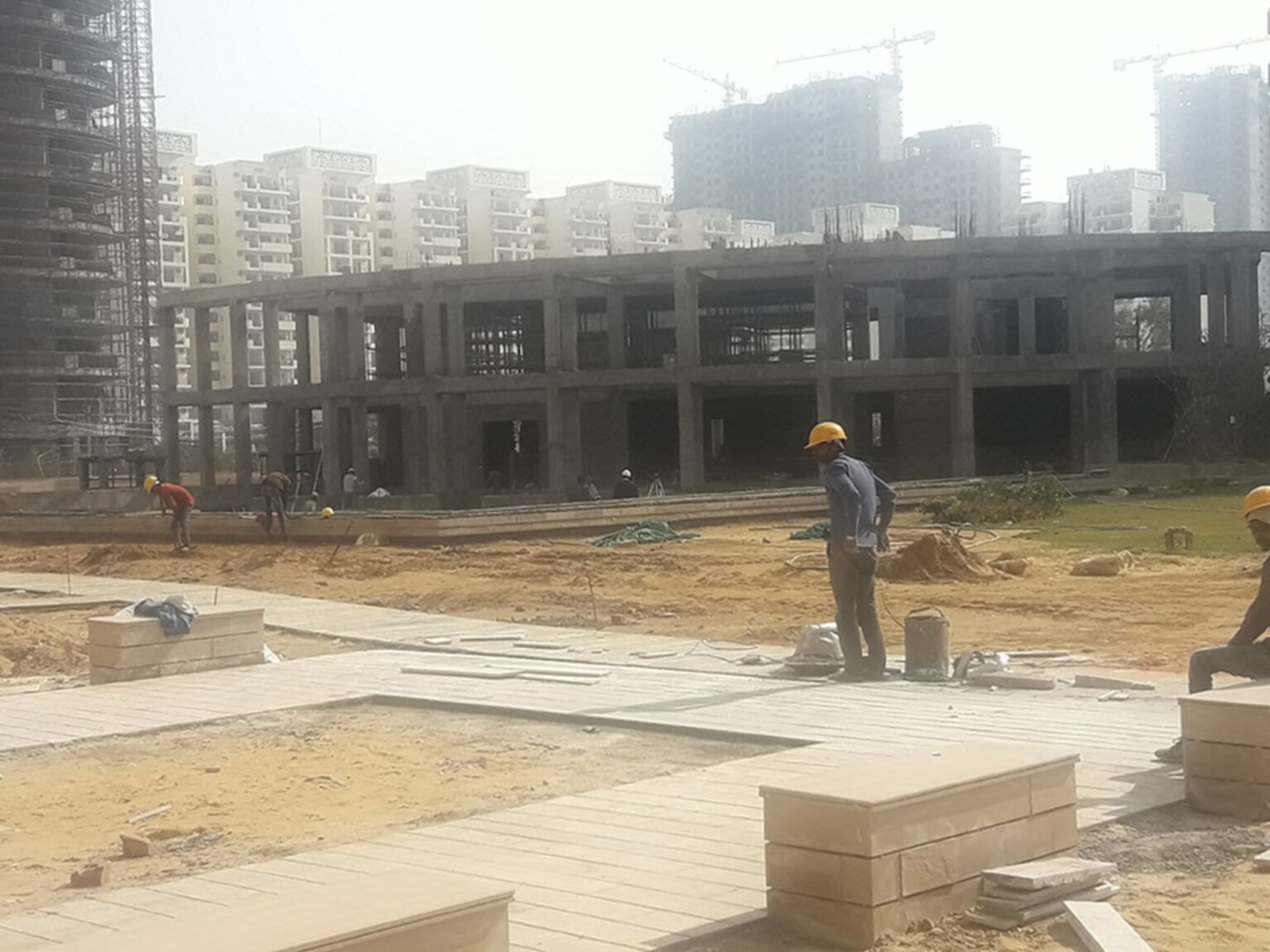 7230 sq ft 4 bhk 6t apartment for sale in bestech park for Spa construction