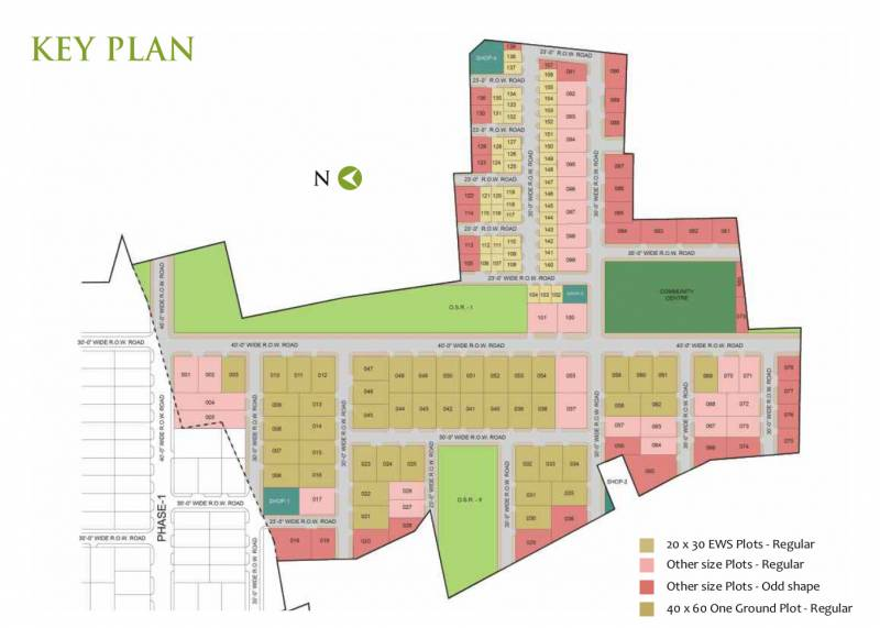 Images for Layout Plan of Arihant Greenwood City