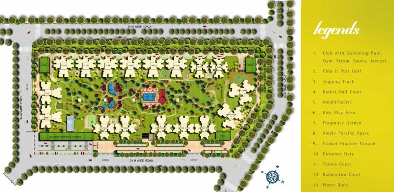 Images for Layout Plan of Unnati The Aranya