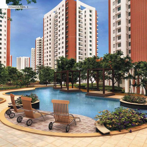 Image of swimming pool of prestige group bella vista iyappanthangal chennai for Swimming pool construction cost in chennai