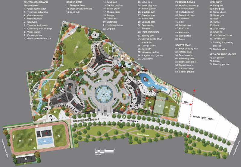 world-crest Images for Layout Plan of Lodha World Crest