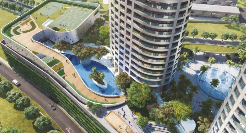Images for Elevation of Lodha World Crest