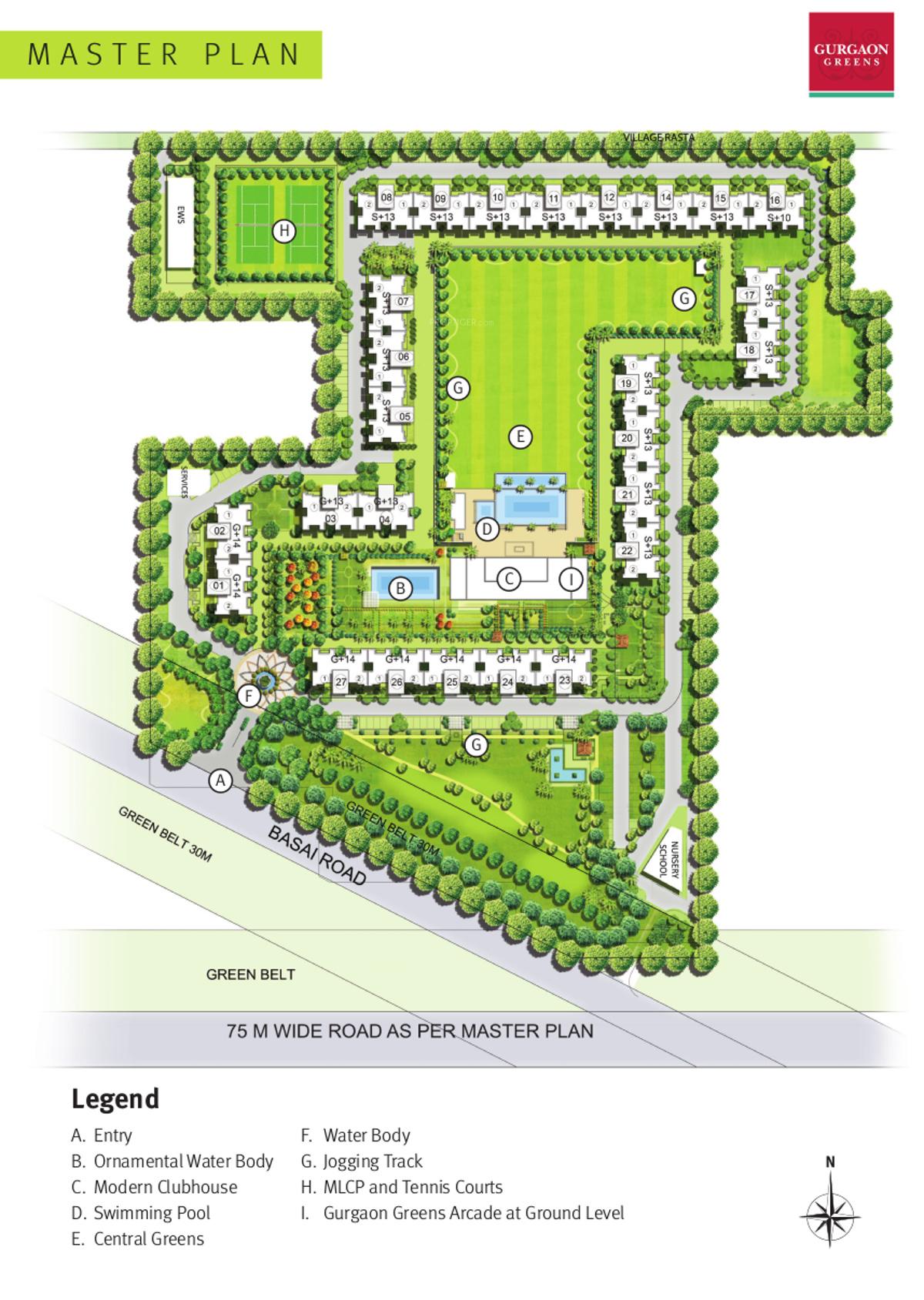 Emaar Gurgaon Greens In Sector 102 Gurgaon Price Location Map Floor Plan Reviews Proptiger Com