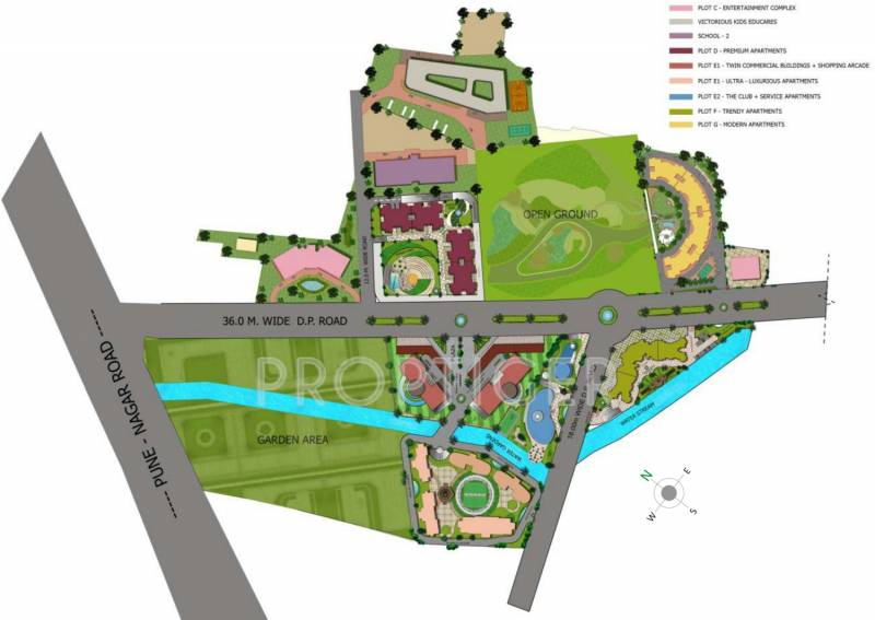 Images for Layout Plan of Kolte Patil Beryl
