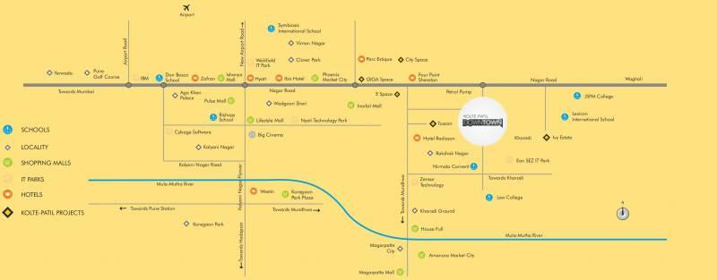 Images for Location Plan of Kolte Patil Beryl