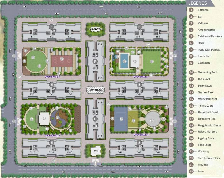 ivy-apartments Images for Layout Plan of Kolte Patil IVY Apartments
