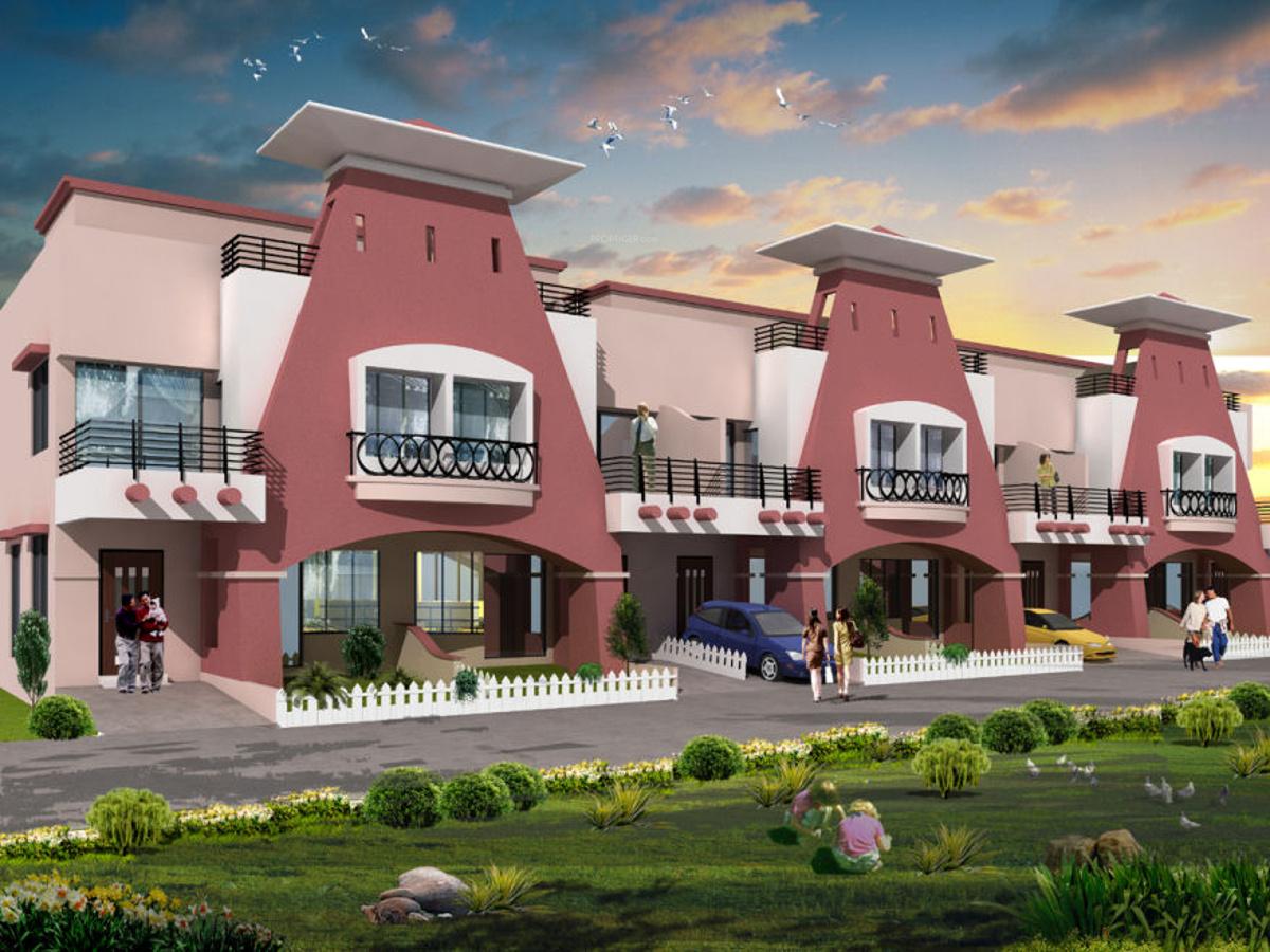 Layout Plan Image Of Raviraj Realty Ozone Villas For Sale