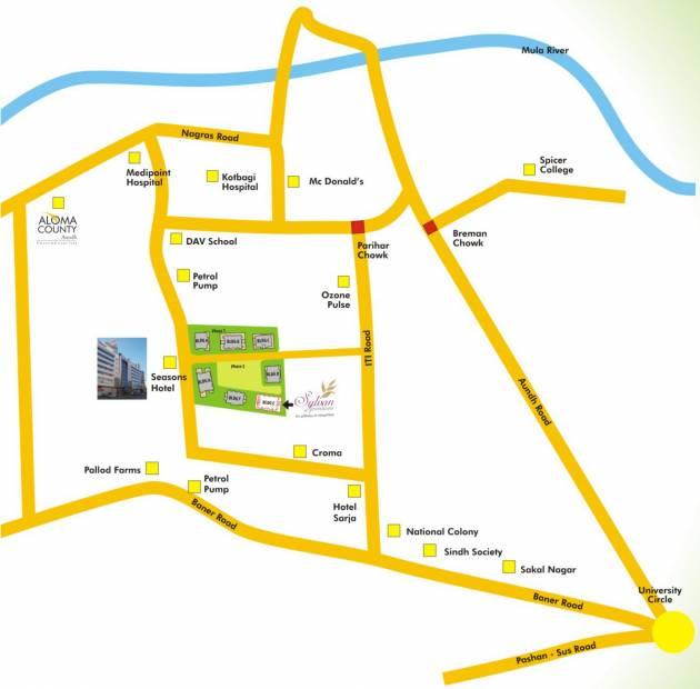 Images for Location Plan of Naiknavare Housing Sylvan Premium