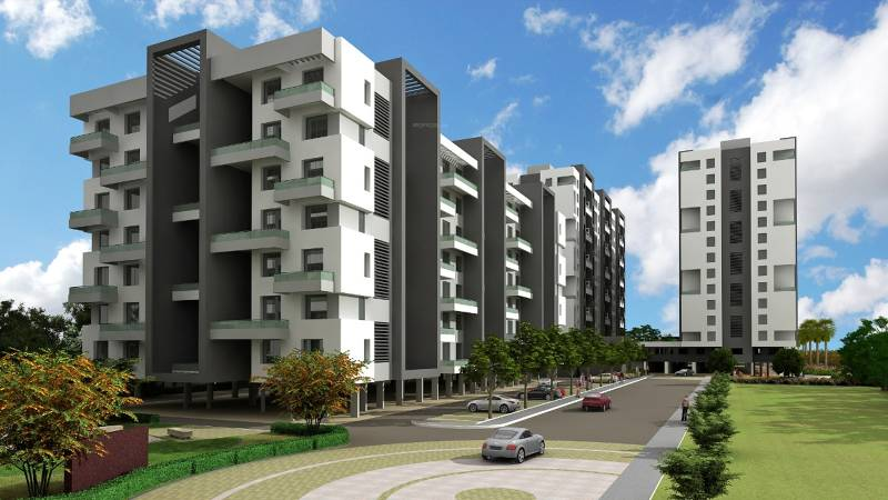 Images for Elevation of Wadhwani Constructions Sai Ambience