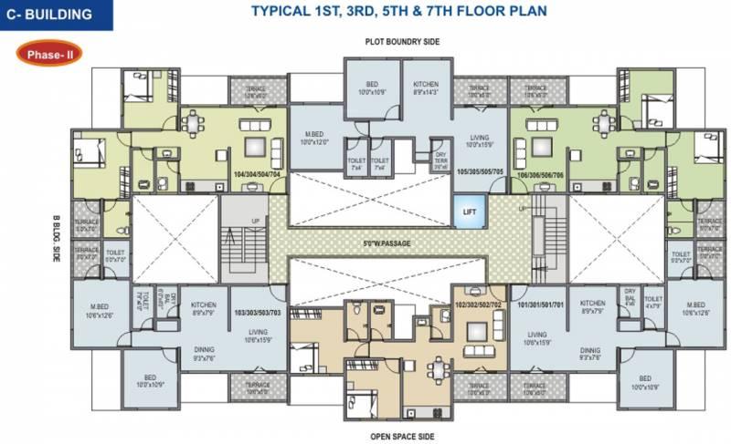 Images for Cluster Plan of RK Alankapuram