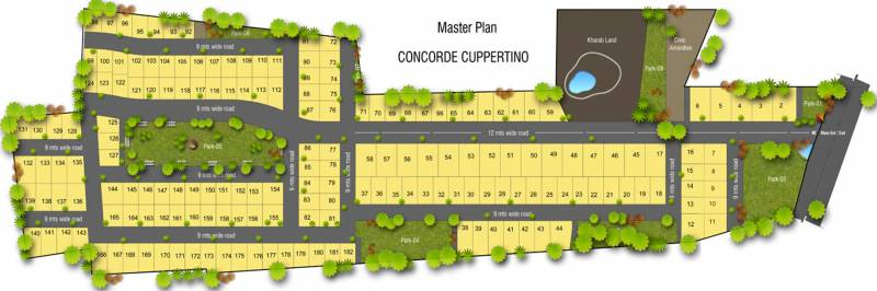 Images for Master Plan of Concorde Cuppertino