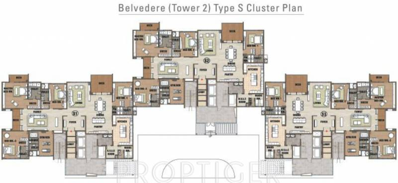 Images for Cluster Plan of Prestige White Meadows