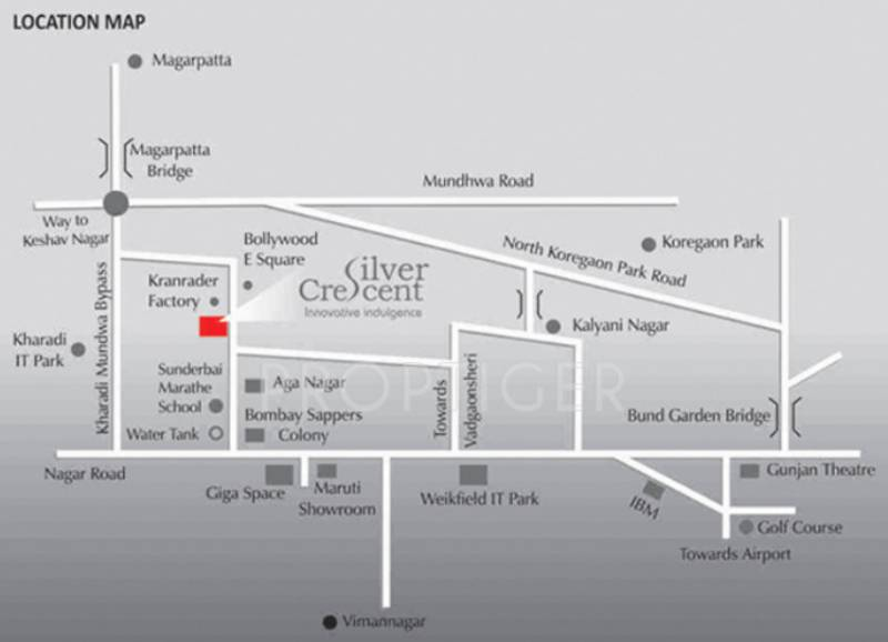 Images for Location Plan of Mittal Silver Crescent