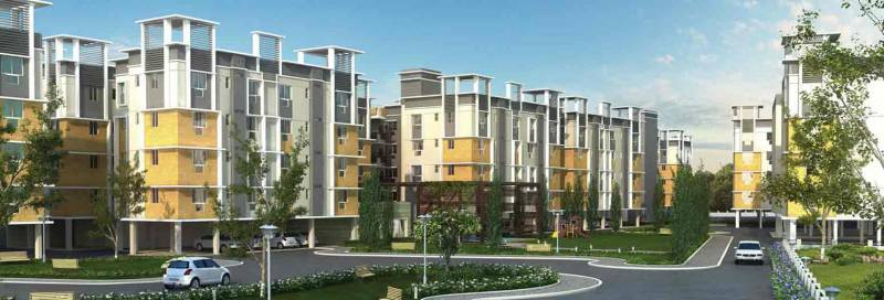 Images for Elevation of Siddha Town Madhyamgram