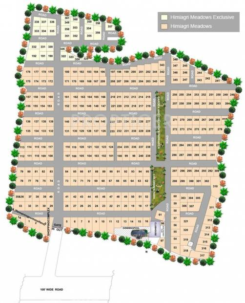 Images for Layout Plan of Himagiri Meadows