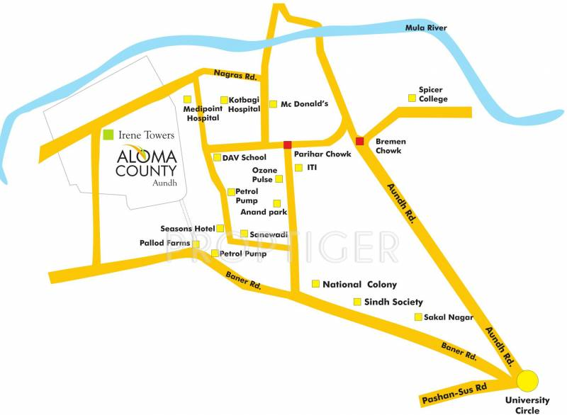 Images for Location Plan of Pride Aloma County